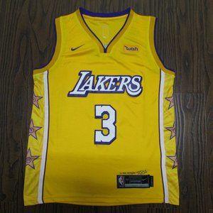 Lakers 3 city Davis yellow